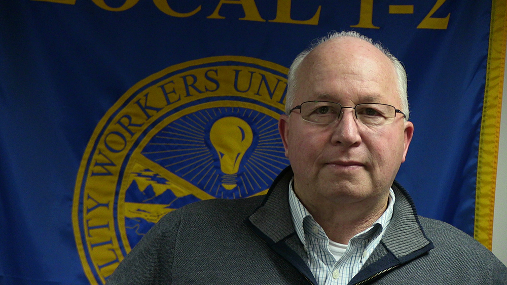 James Shillito, President, Utility Workers Union of America Local 1-2