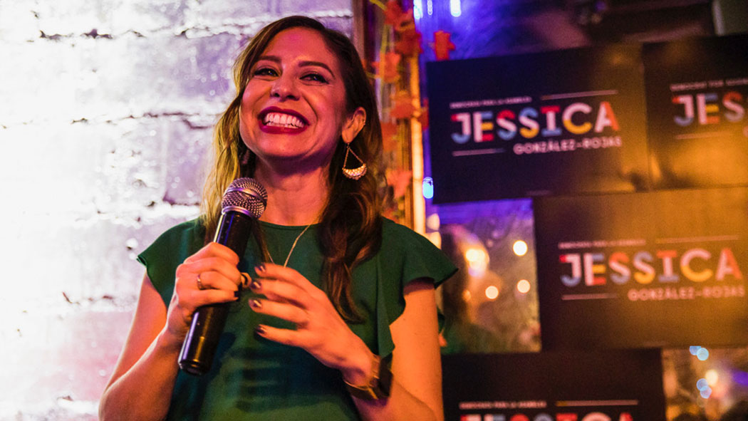 Jessica González-Rojas, candidate for Assembly District 34.