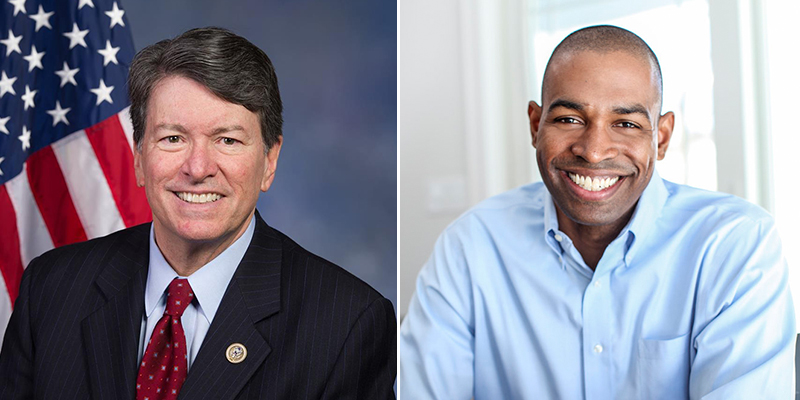 John Faso and Antonio Delgado