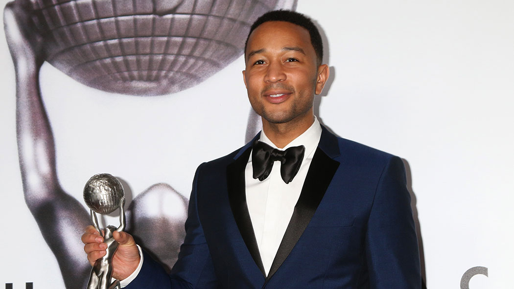 John Legend at the 47TH NAACP Image Awards.
