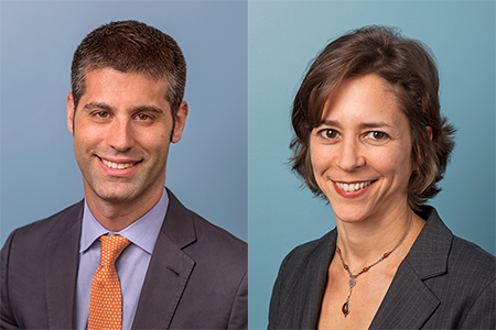 Jonathan Rosen and Valerie Berlin