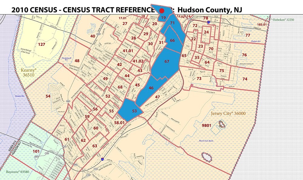 Journal Square New Jersey Census