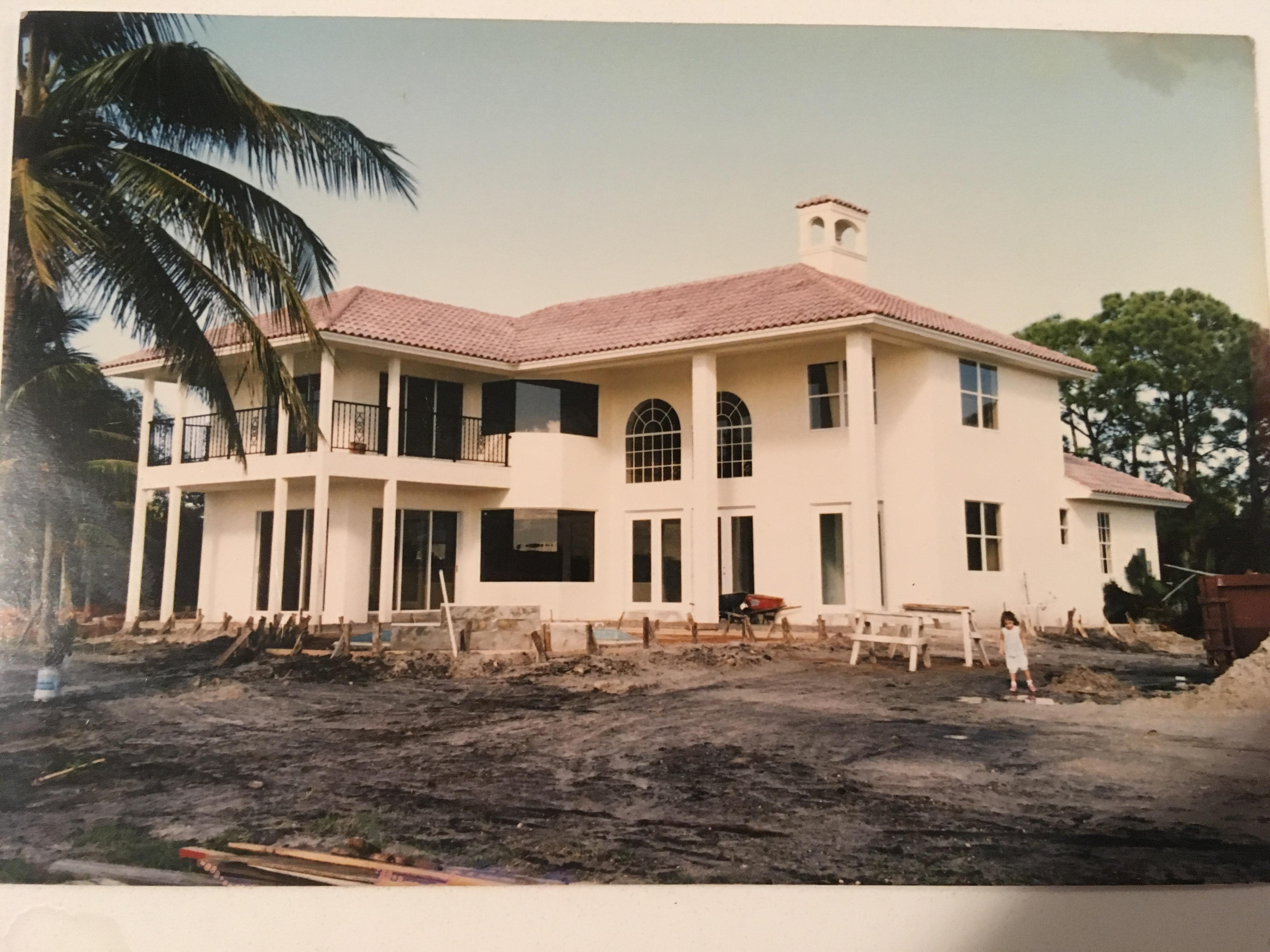 Julia Salazar's early childhood house in Jupiter, Florida