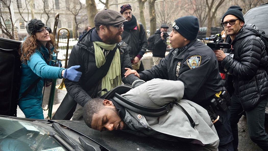 Council Member Jumaane Williams gets arrested after protesting the detention of Ravi Ragbir.