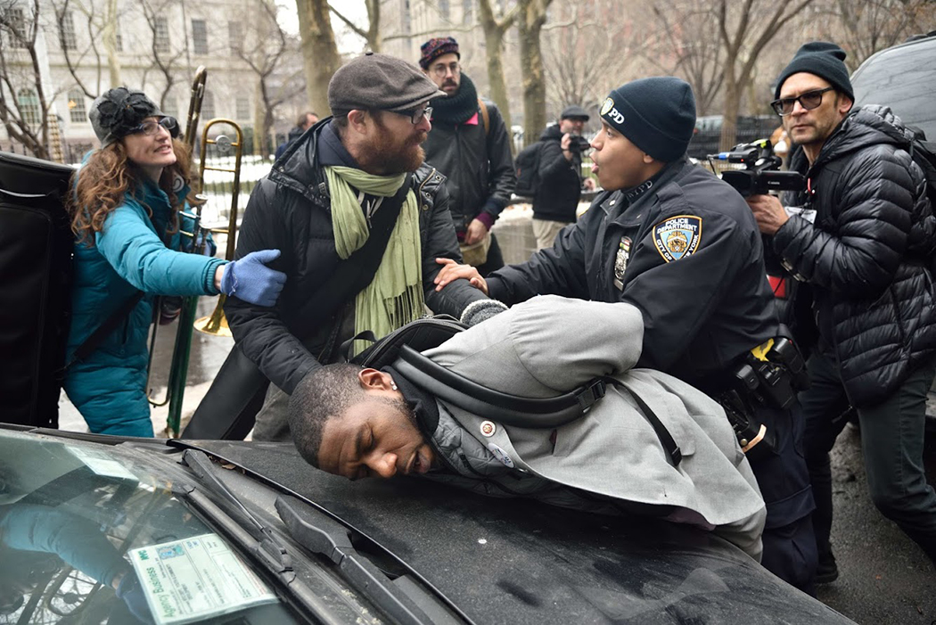New York City Councilman Jumaane Williams was arrested in January while protesting the pending deportation of immigration activist Ravi Ragbir.
