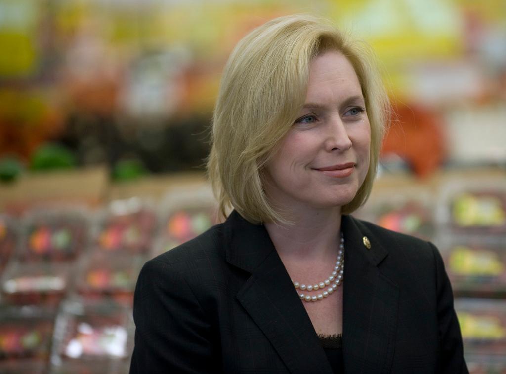 US Sen. Kirsten Gillibrand.
