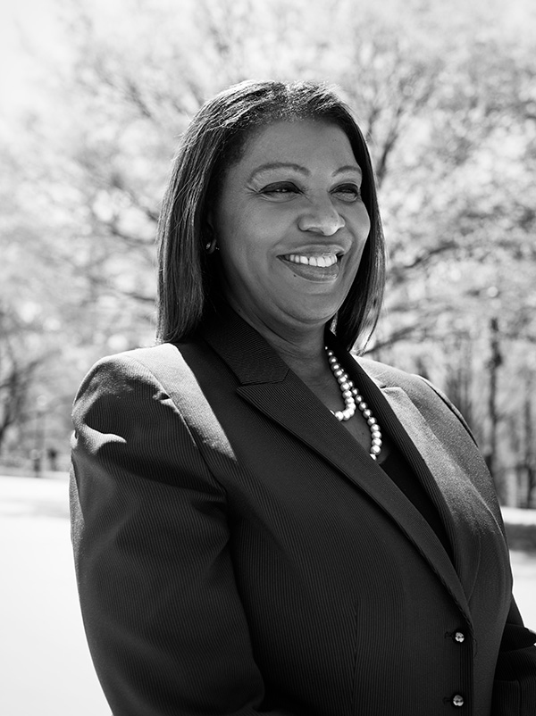 New York City Public Advocate Letitia James