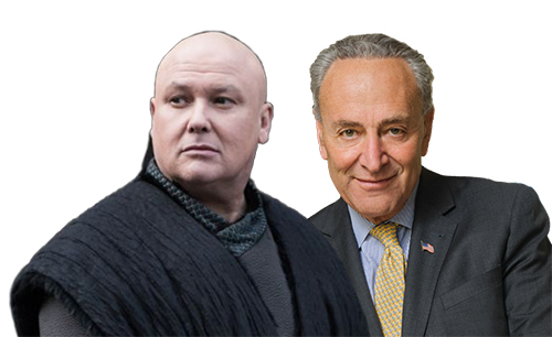 Lord Varys and Chuck Shumer
