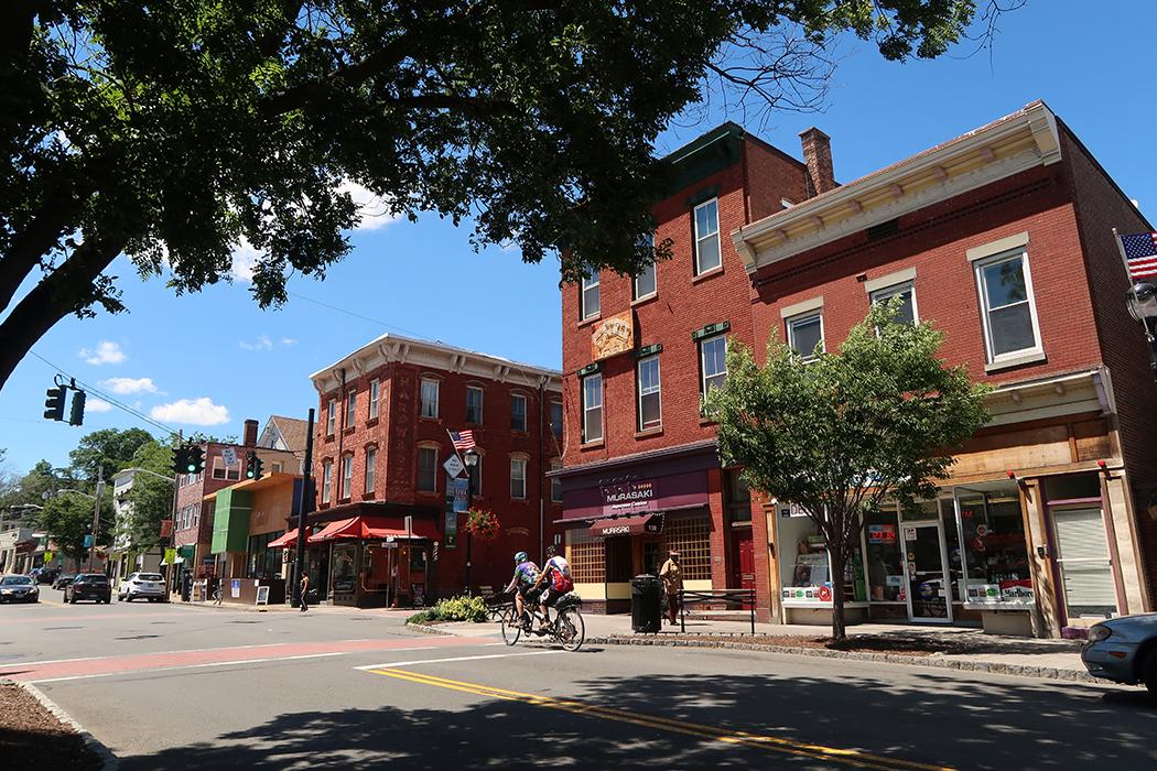 Main Street in Nyack New York