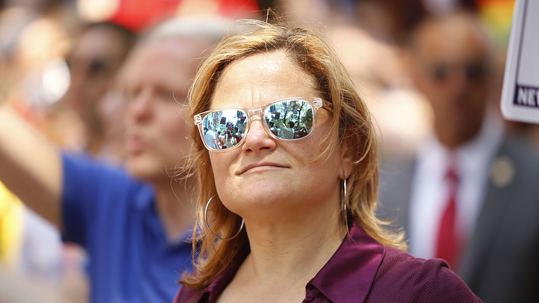 Former New York City Council Speaker Melissa Mark-Viverito.