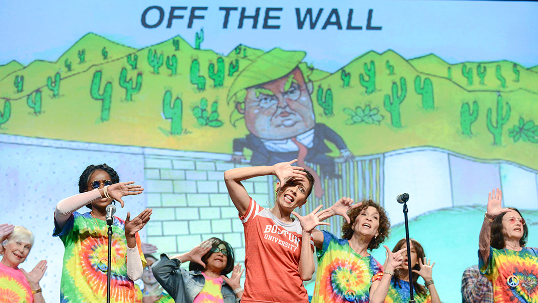 off the wall, with AOC