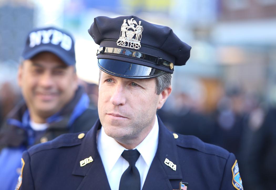 Police Benevolent Association President Patrick Lynch.