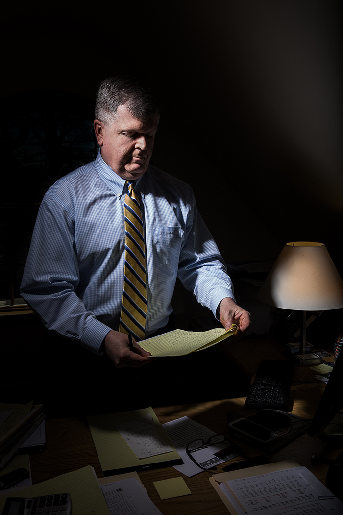 Suffolk County Democratic Committee Chairman and Babylon Supervisor Rich Schaffer.