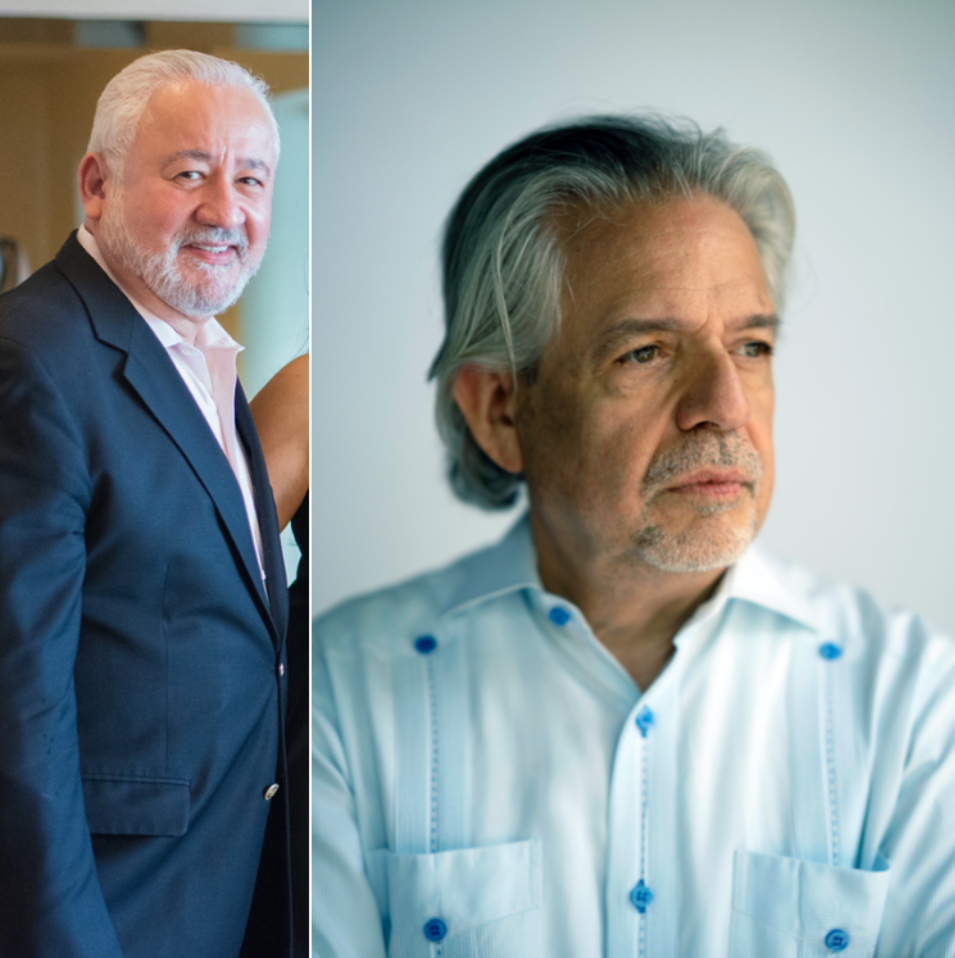 Robert Ramirez (left) and Luis Miranda (right)