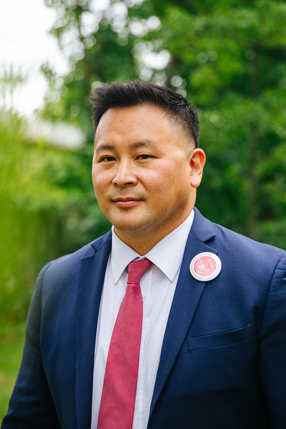 New York State Assembly Member Ron Kim