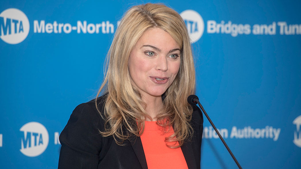 Interim Transit President Sarah Feinberg