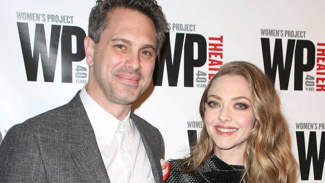 Amanda Seyfried and her husband Thomas Sadowski.