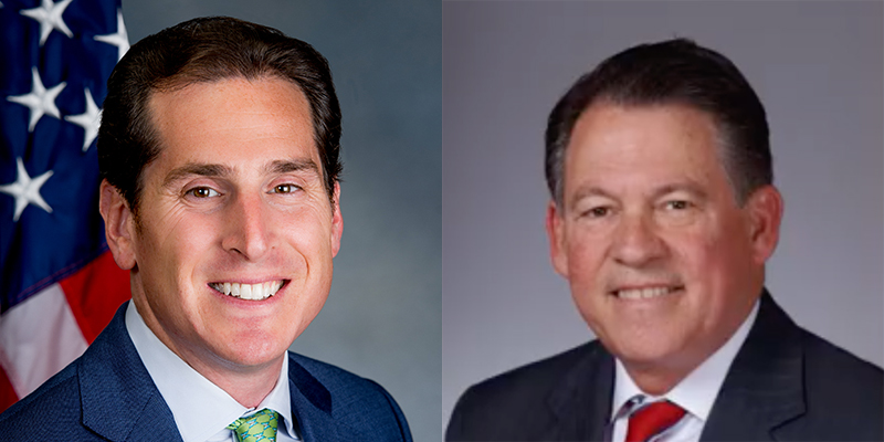 Todd Kaminsky and Francis Becker Jr.
