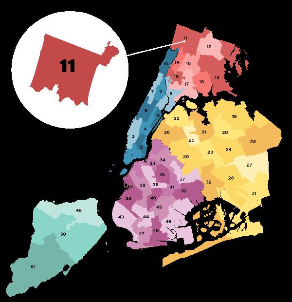 City Council District 11 Map