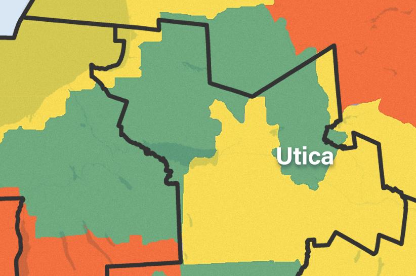 Utica map